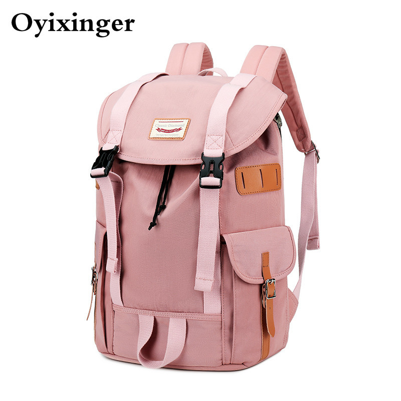High Quality Trend Preppy Style Girls Backpack Women School Bags For Teenage College Student Girl Campus Middle School Backpacks