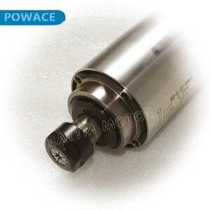 Image 3 - [STOCK Europeo] calidad 2,2 kW de husillo motor refrigerado por aire ER20 Runout off 0,01mm rodamiento de cerámica grabado molienda