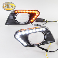 55 Discount With Auto Yellow Turning Function LED Daytime Running Light LED DRL LED Daylight For