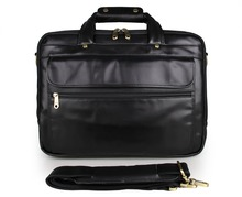 7146A JMD 100% Genuine Cowhide Oily leather Men's Hand Travel Briefcases Messenger Bag цена
