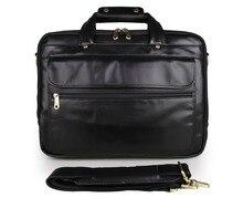 JMD 100% Genuine Cowhide Oily leather Men's Hand Travel Briefcases Messenger Bag Crossbody bag 7146A -1