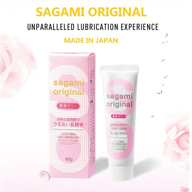 Made In Japan Original 60g Hyaluronic Acid Hot Sale Vagina Sex Toy Silk Touch Anal Lubricant Water Based Excited Lubricating Gel