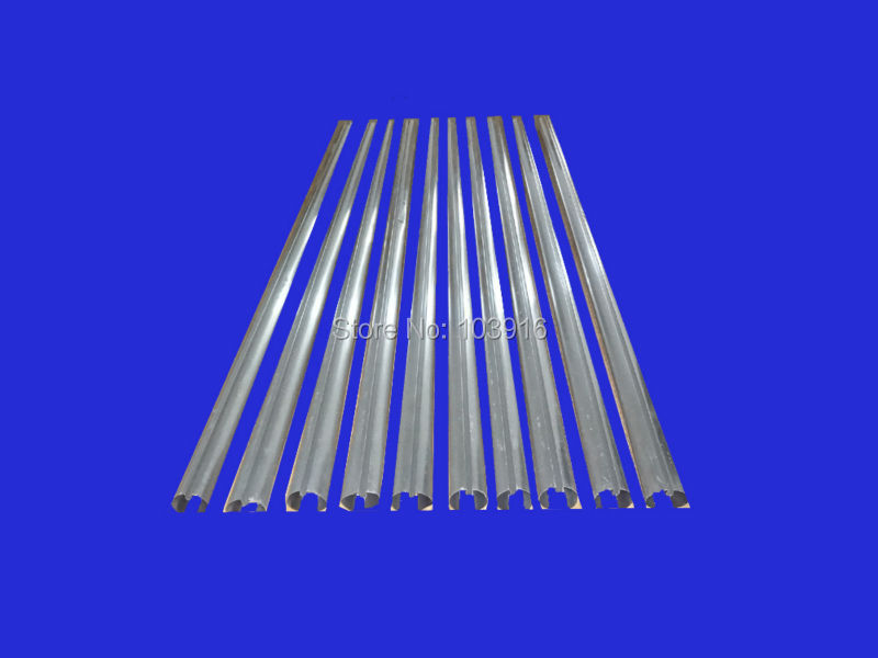 10 pcs of aluminum fins for glass tubes (58mm*1800mm), for solar water heater все цены