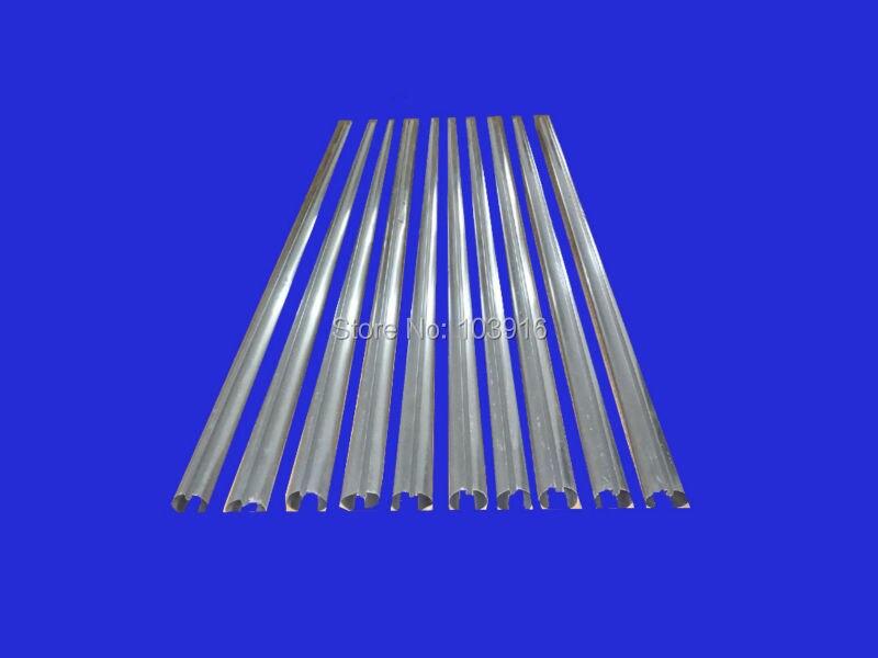 10 pièces d'ailettes en aluminium pour tubes en verre (58mm * 1800mm), pour chauffe-eau solaire
