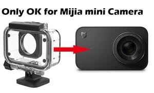 Image 4 - Оригинальный чехол Xiaomi Mijia IP68 для дайвинга, глубина 40 м, водонепроницаемый защитный чехол, чехол, спортивный мини для цифровой камеры Xiaomi 4k