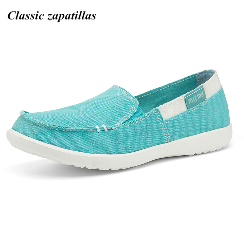 2018 Women Flat Shoes Breathable Ladies Canvas Shoes Woman Spring Summer Lightweight Comfortable Women Shoes Slip-on Loafers women s shoes 2017 summer new fashion footwear women s air network flat shoes breathable comfortable casual shoes jdt103
