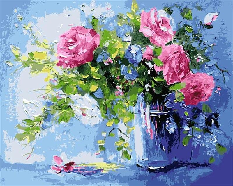 Arակարանանդա ծաղիկներ կապույտ - Տնային դեկոր - Լուսանկար 2
