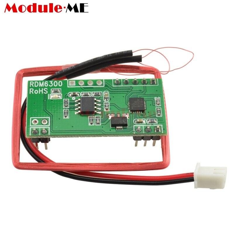 125KHz EM4100 RFID kart anahtar kimlik okuyucu NFC modülü RDM6300 RDM630 erişim kontrol sistemi kontrol kurulu 5VDC UART TTL RS232