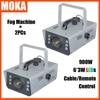 2PCS Lot Dmx Fog Machine LED DMX512 Spraying Smoke Machine Led Fog Smoke Machine For Dj