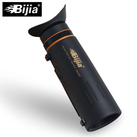 BIJIA 10x42 Monocular Telescope Fully Coated Optics Mini Monocular LLL Night Vision Hunting Concert Spotting Scope