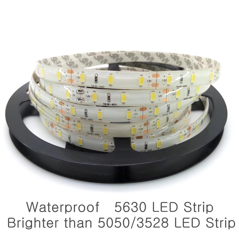 5m / Lot 5630 LED Strip 12V Fərqli Dekorasiya İşıqlandırma - LED işıqlandırma - Fotoqrafiya 2