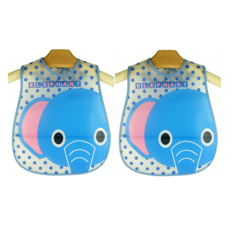 Cute EVA Fabric Waterproof Baby Bibs For Children,Infants Kids Translucent Saliva Towel Lunch Bibs Burp Clothes Cartoon BI010