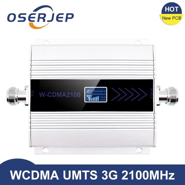 3g ripetitore 2100 mhz repetidor lcd wcdma 2100 mhz telefone móvel mini impulsionador de sinal/amplificador telefone celular amplificador