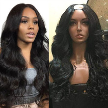 SimBeauty 100% Human Hair Wig With Straps and Combs For Black Women 100% Unproce
