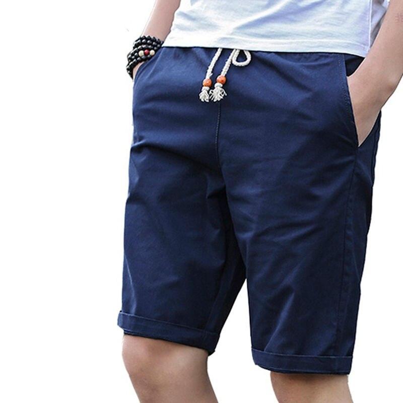 Cotton Shorts Men Brand Casual 2019 Summer Plus Size Men Short Knee Length Surfings Short Leisure Fitness Breathable Shorts 5XL