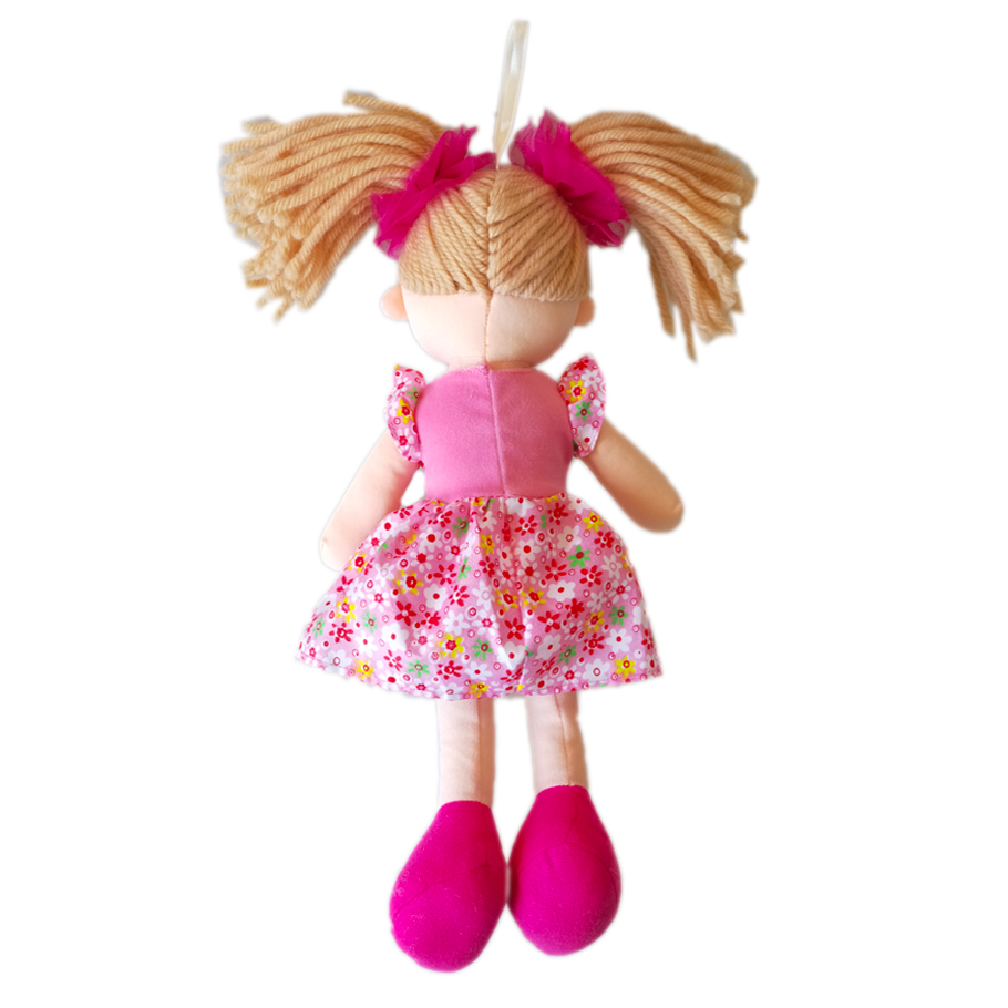 inace brand cute big eyes dolls for girls with flower inace brand cute big eyes dolls for girls with flower pattern dress and red headwear beautiful soft dolls for baby girls pink izmirmasajfo
