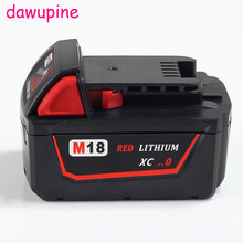 dawupine M18B Shell Li-ion Battery Plastic Case Charging Protection Circuit Board For Milwaukee 18V 3Ah 4Ah 5Ah 6Ah PCB Board