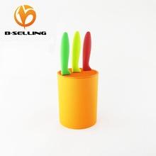 Multifunctional Colorful  Plastic  Holder Knife  Kitchen knife stand Orange color  for Ceramic knives ~