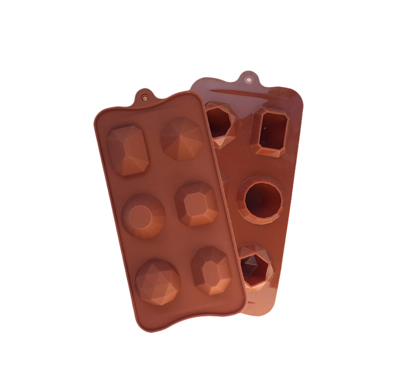 L074 joya joya de Diamantes DIY molde de silicona chocolate fondant cake moldes