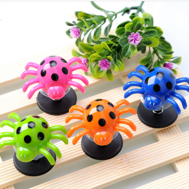 4pcs/set Funny Toy Plastic Colorful Spider Children Baby ...