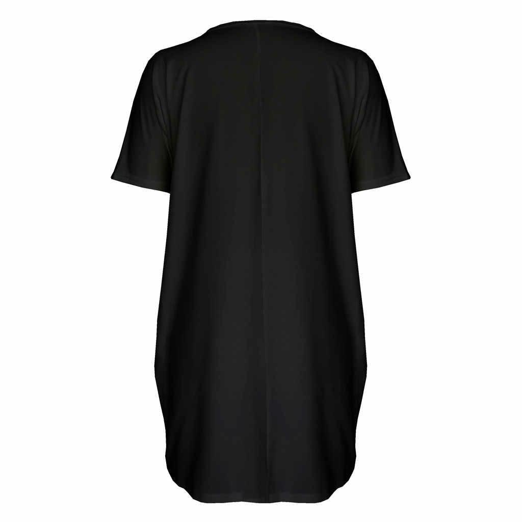 Robe d'autruche gratuite femmes impression sur les lèvres des cils col au-dessus du genou décontracté blanc lâche magnifique digne Noble roman robe courte d'été
