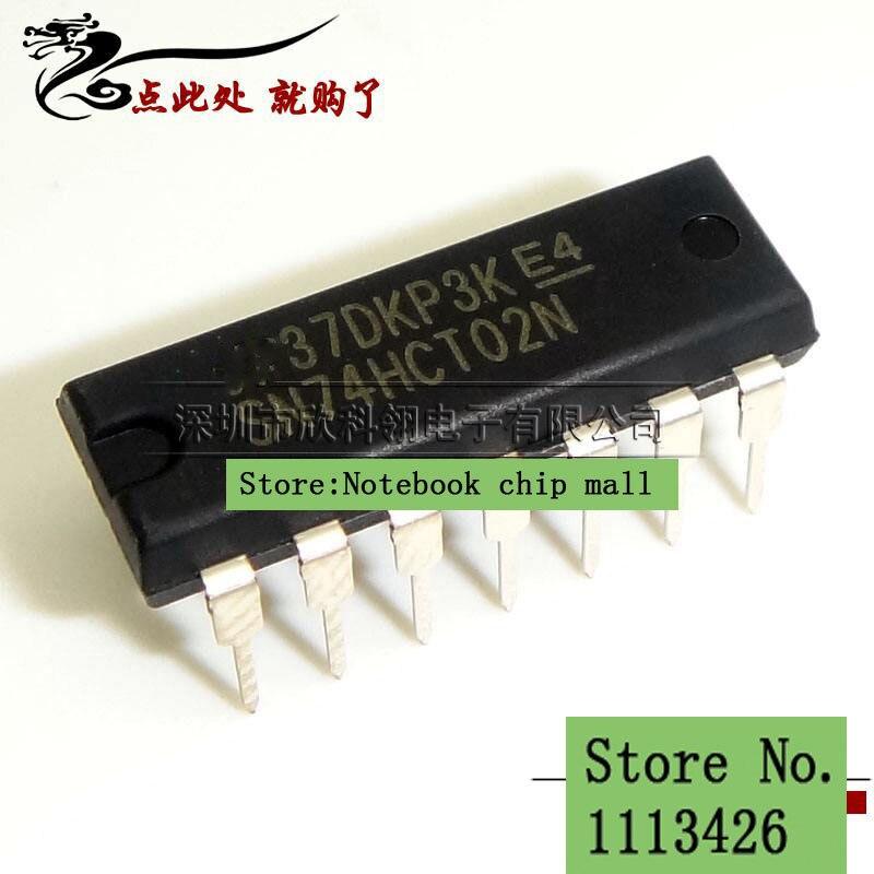 Free shipping 10pcs/lot SN74HCT02N 74HCT02 DIP new original