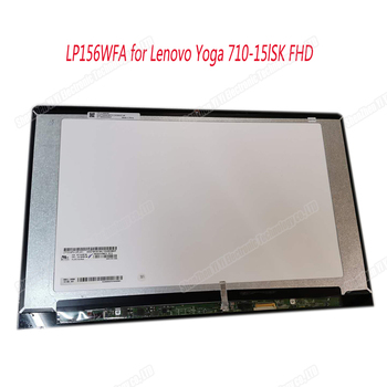 For Lenovo Yoga 710-15 LP156WFA lcd screen with touch digitizer assembly 1920*1080