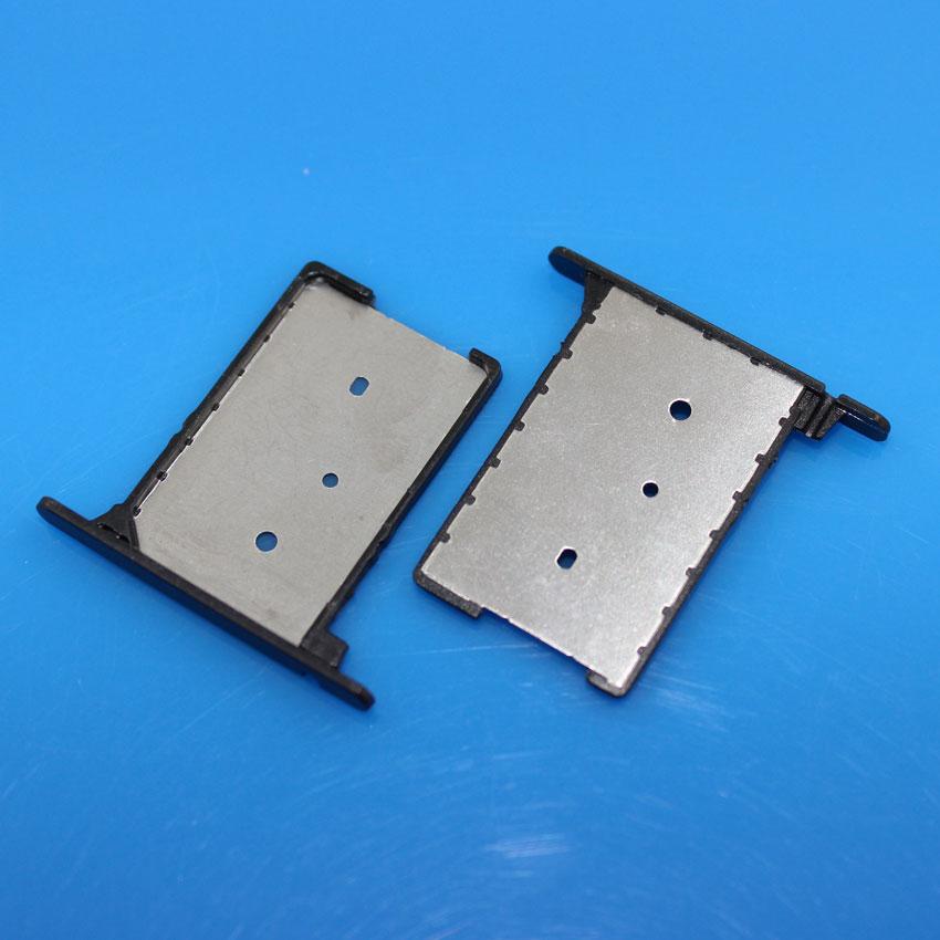 cltgxdd 2pcs/lot 100% New Sim Card Slot Tray Holder for Xiaomi mi3 m3 for xiaomi 3 , Black
