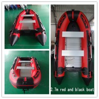 2016 Top Selling 0 9mm Red And Black Fishing Boat