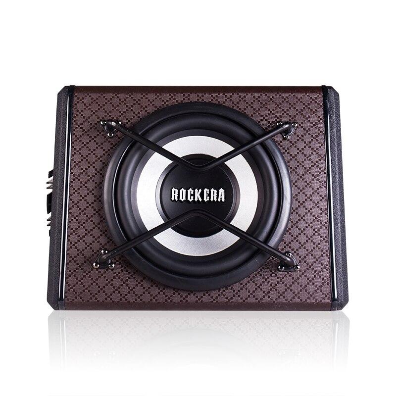 Избыточный вес 10 дюймов Audio Автомобильная акустика активный сабвуфер W/усилитель трапеция Авто НЧ Max Мощность 400 Вт автомобиля домой сабвуфе