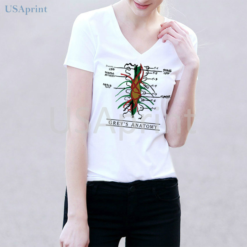 USAprint Fashion Women T Shirts Greys Anatomy You are My Person ...
