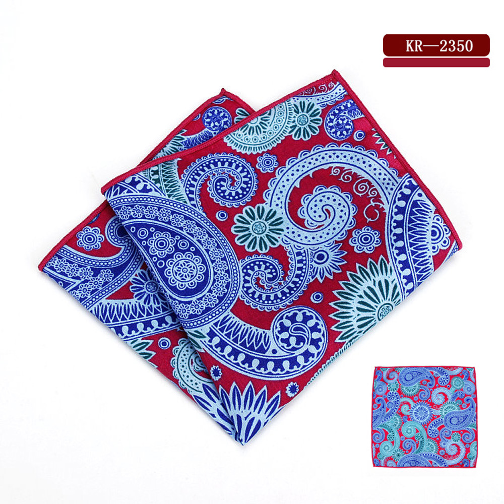 Mens Tuxedo Pocket Square Paisley Pattern Wedding Party Hanky Handkerchief NEW BWTYF0234