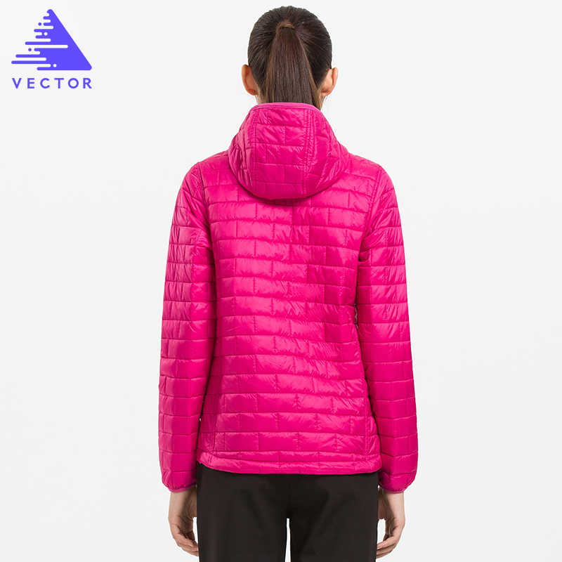 VECTOR Winterjas Vrouwen Ultralight Warme Beneden Katoen Dunne Jas Thermische Waterdichte Bovenkleding 60030
