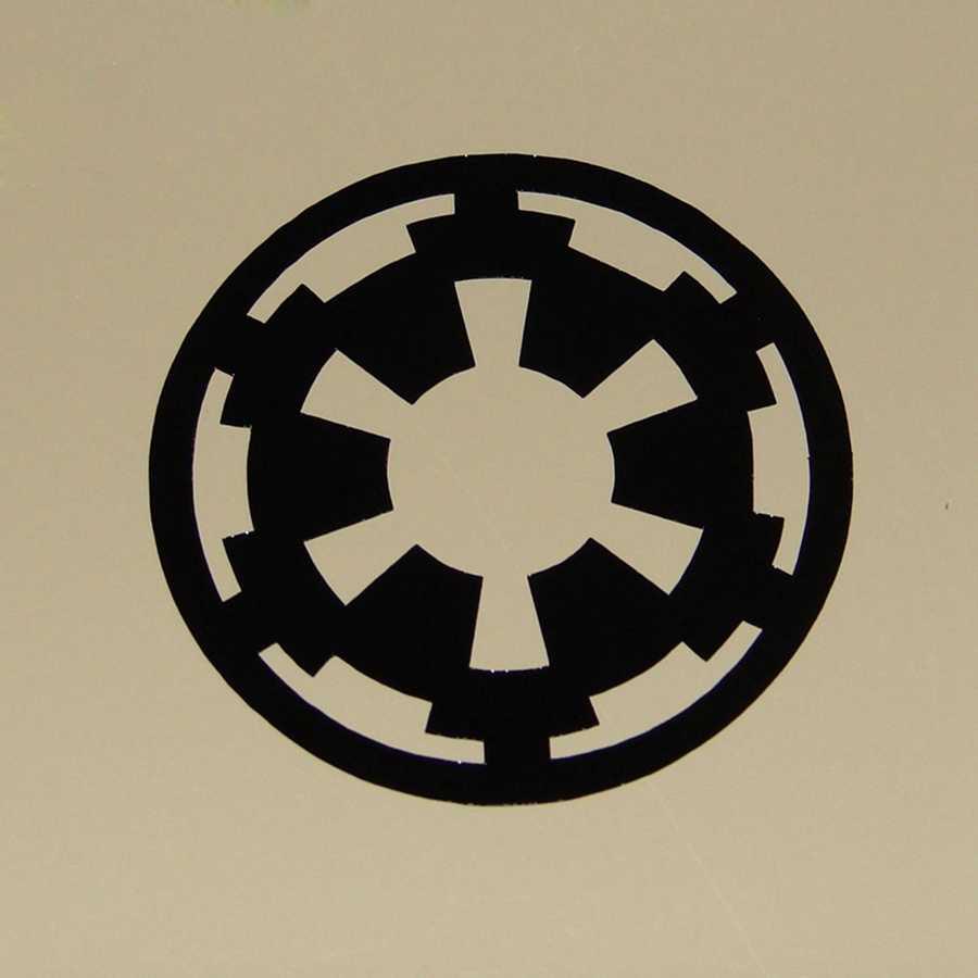 Виниловые настенные наклейки, 2 шт./компл., различные Звездные войны
