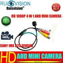 MINI AHD 1080P/2.0MP 4 IN 1 SONY IMX 323 sensor cctv  camera for Home HD Security Surveillance video mini camera free shipping