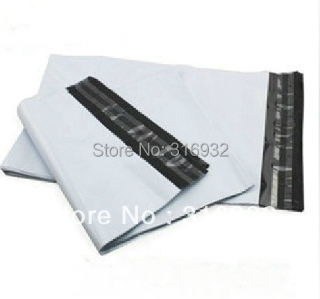 E3  Free Shipping 10pcs/lot 28*42cm,white Express Bag Poly Mailer Mailing Bag Envelope Self Adhesive Seal Plastic Bag