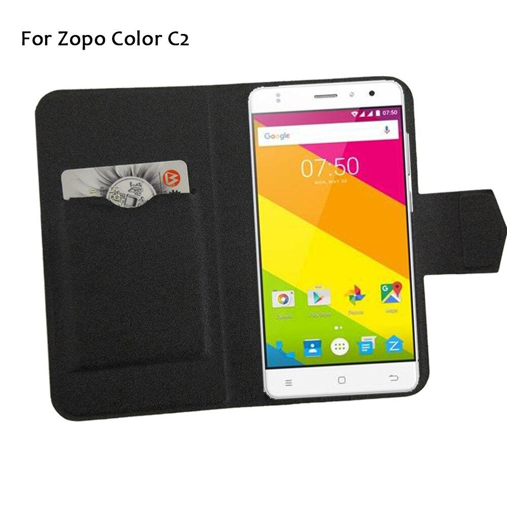 5 Colores Super! zopo c2 teléfono de color case cubierta del tirón del teléfono