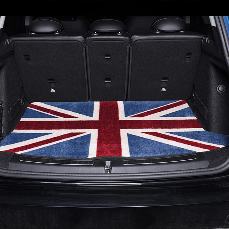 Union Jack Car Floor Rear Trunk Mat Cargo Auto Protected