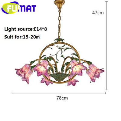 trumpet flower8 lights_