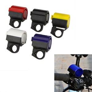 Image 2 - Yüksek kalite MTB yol bisiklet bisiklet elektronik çan Loud Horn bisiklet Hooter Siren tutucu toptan