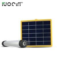If sheng solar lamp LED waterproof outdoor camping camping light bar multi functional high brightness emergency light