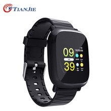 TIANJIE M30 Bluetooth Smart Watch With Smartwatch Pedometer Black Health Sport Clock Men Women SmartWatch For Android IOS
