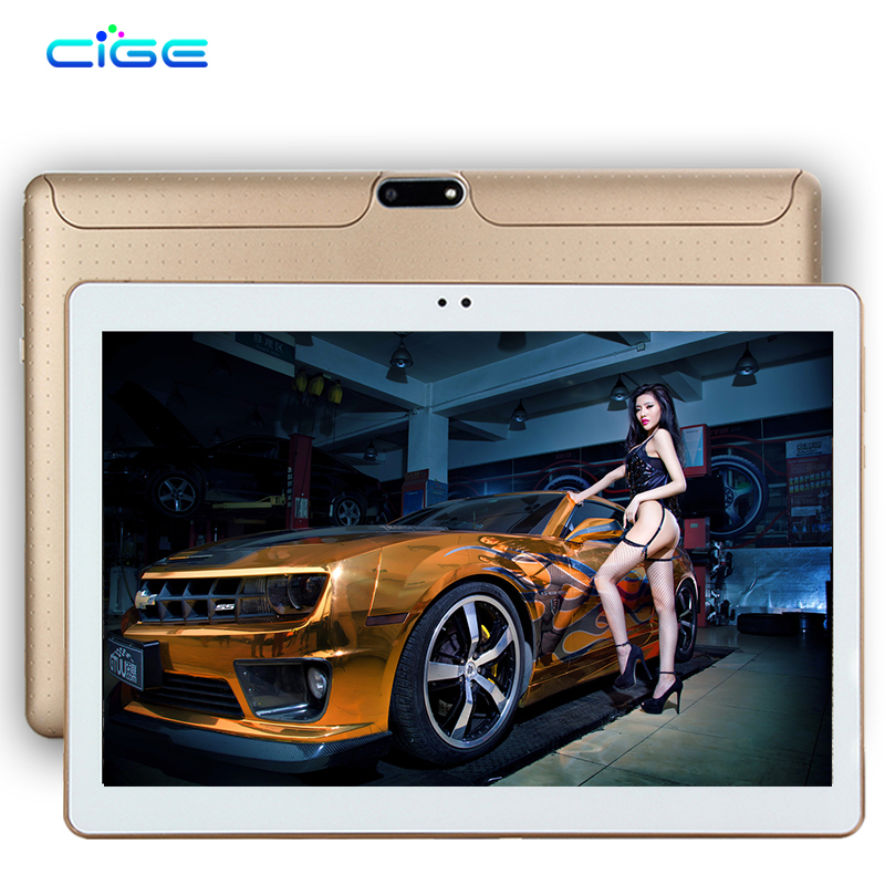CiGe 10.1 inch 3G 4G Lte Tablet PC Octa Core 4GB RAM 64GB ROM Dual SIM Card Android 5.1 GPS 1280*800 IPS Tablets 10 2017 newest 4g lte 10 inch tablet pc android 6 0 octa core 4gb ram 64gb rom dual sim 5mp gps ips bluetooth smart tablets mt8752
