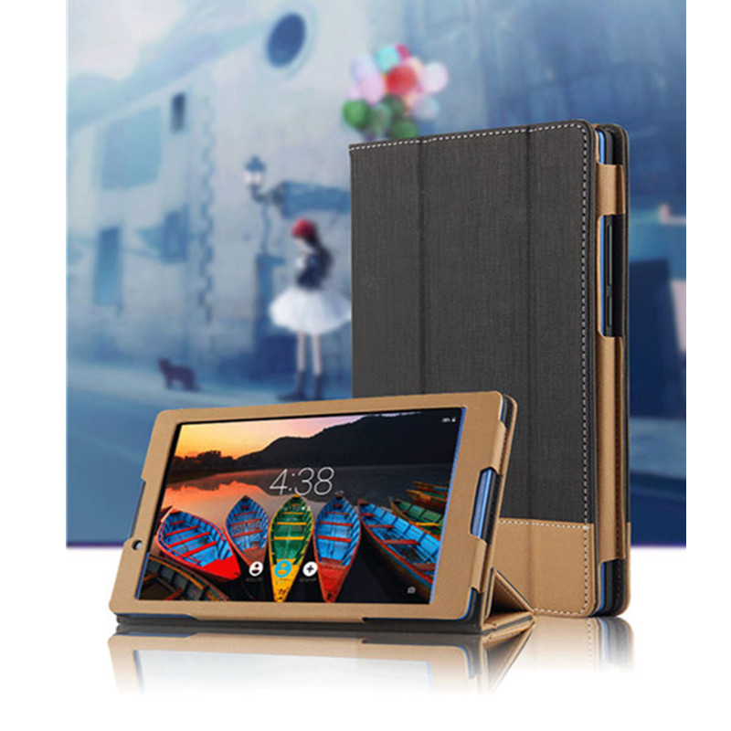 SD For Lenovo Tab3 8 Flip PU leather Book skin Spell color Case Magnet stand Luxury cover For Lenovo tab 3 8.0 TB3-850F Tb3-850M