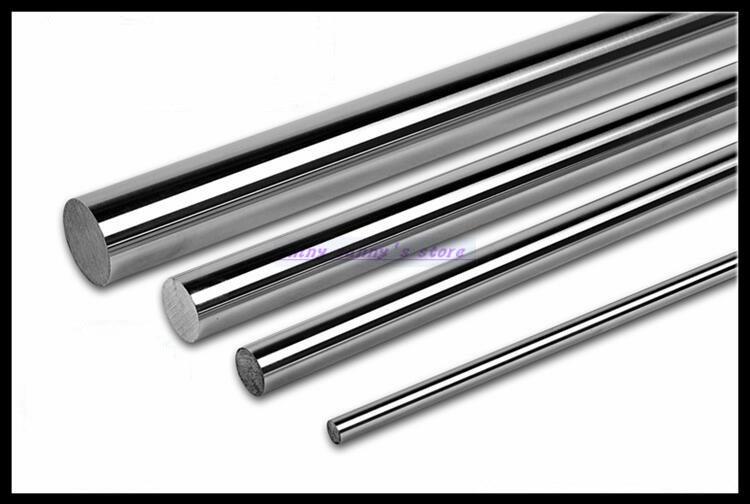 2pcs/Lot  Outer Diameter 10mm Cylinder Liner Rail Linear Shaft Optical Axis цена и фото