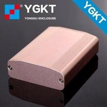 YGK-005 61*22.4-80mm WxH-L aluminum enclosure pcb hard drive external case electronic enclosure design