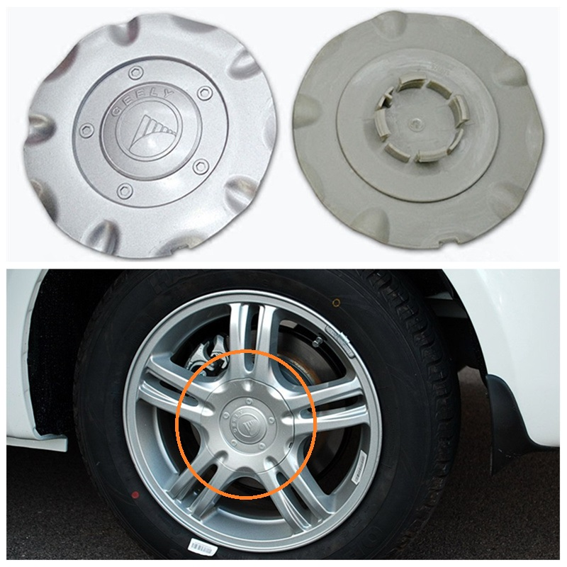 For Geely,FC,Vision,Car wheel center hubcap hub cap coverFor Geely,FC,Vision,Car wheel center hubcap hub cap cover