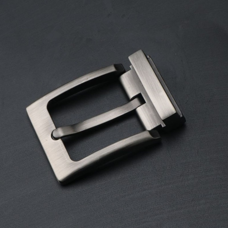 High Quality Men's Pin Buckle Solid Belt Buckle Head Single Selling Accessories Alloy Headband Lead Hole Punching Pants Lead