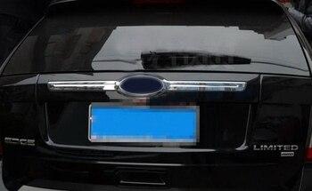 Хромированная отделка задний люк Крышка Багажника рамка отделка для Ford Edge 2007-2013 >> Angryrabbit Store