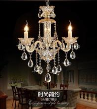 LED Chandelier Lustres de Cristal Chandeliers Crystal Lampadario Luxury Chandelier 3 arms Lustres de Crystal red crystal chandelier led indoor lighting bedroom lamparas de cristal lustres de teto luminaire chandeliers for dining lights